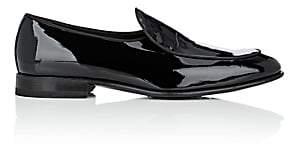 Harris Men's Patent Leather Belgian Loafers - Black