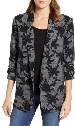 Wit & Wisdom Floral Plaid Jacket
