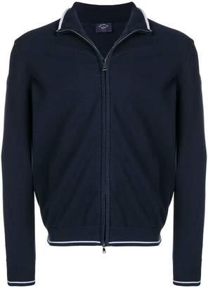 Paul & Shark slim-fit zip-up jacket