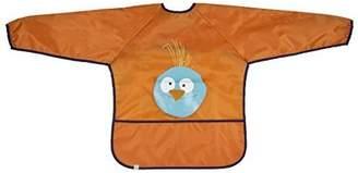 Lassig Art Smock Wildlife Bib Cloth, Birdie/Orange by