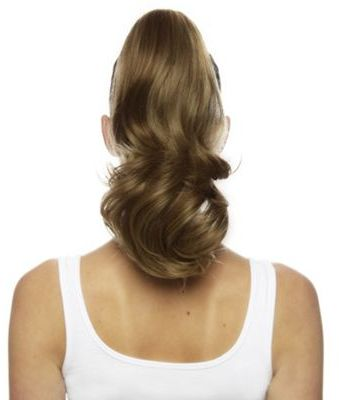Love Hair Extensions Percilla Pop-On Crocodile Clip Ponytail