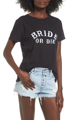 Women's Sub_Urban Riot Bride Or Die Graphic Tee $36 thestylecure.com