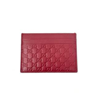 Gucci Leather card wallet