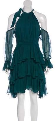 Cinq à Sept Mini Silk Dress