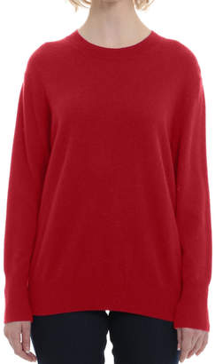 Minnie Rose Red Crew Sweater