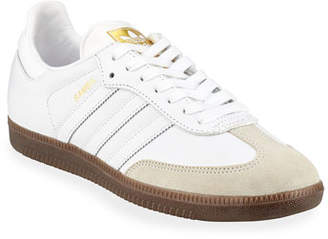 adidas Samba Classic Leather Sneakers, White