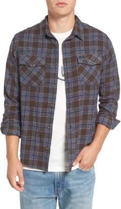 RVCA 'That'll Work' Trim Fit Plaid Flannel Shirt