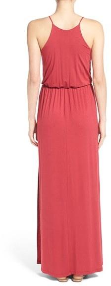 Women's Lush High Neck Maxi Dress 5