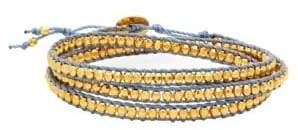 Chan Luu Sterling Silver Wrap Bracelet