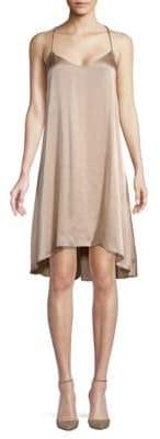 Club Monaco Briana Silk Hi-Lo Dress