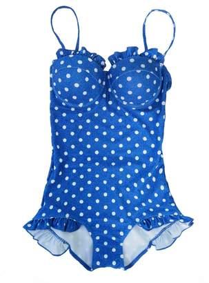 Goodnight Macaroon 'Jacquelin' Polka Dot One Piece Swimsuit