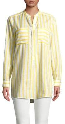 Vero Moda Striped Hi-Lo Shirt