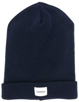 Dondup Kids logo patch beanie