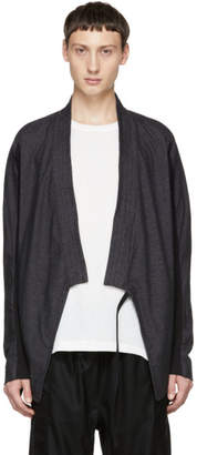 Abasi Rosborough Grey Limited Edition Arc Kimono Cardigan