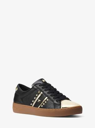 MICHAEL Michael Kors Frankie Studded Leather Sneaker