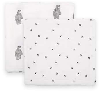 DONO AND DONO Dono & Dono 2-Pack Cuddle Muslin Blankets