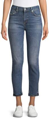 Citizens of Humanity Zip-Fly Cropped Jeans