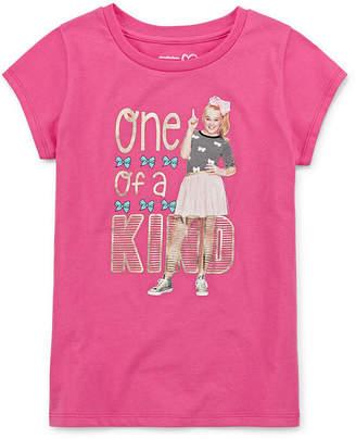 Jo-Jo JOJO Jojo Siwa Girls Crew Neck Short Sleeve Graphic T-Shirt Preschool / Big Kid