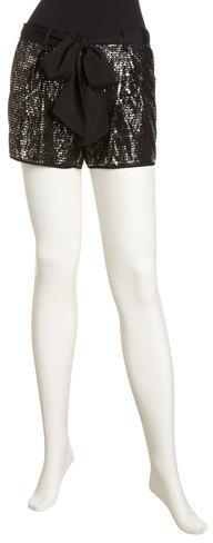 BCBGMAXAZRIA Sequin Shorts