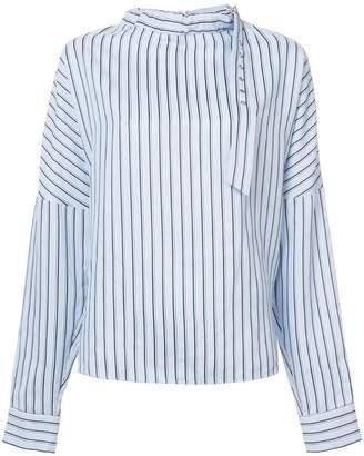 Tibi striped blouse