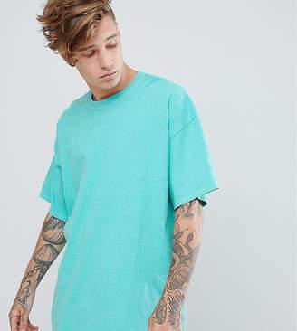 Reclaimed Vintage oversized overdye t-shirt in aqua