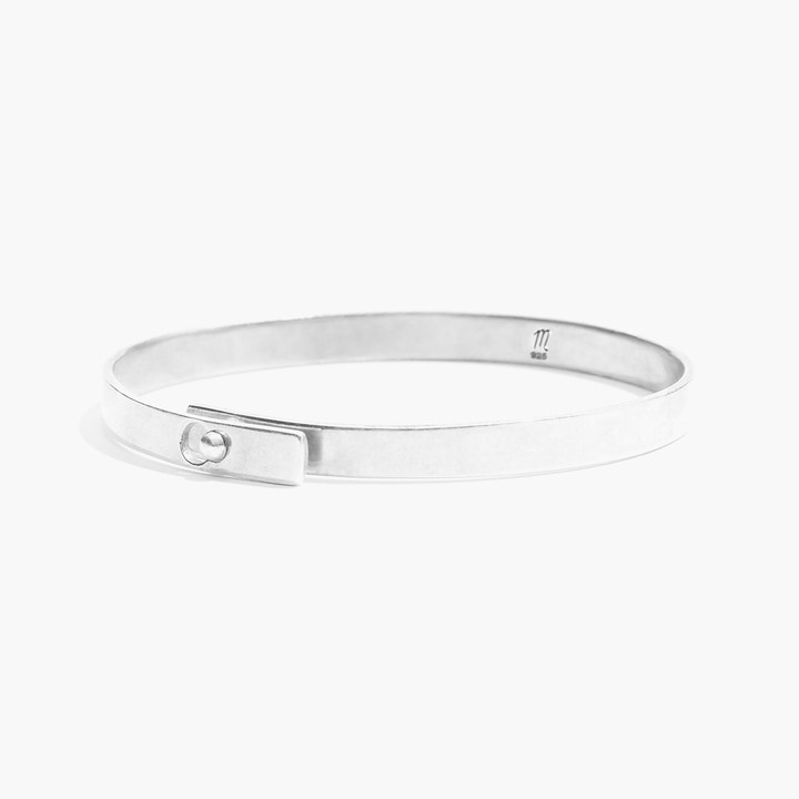 Madewell Sterling-Silver Glider Bangle
