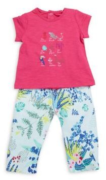 Catimini Catimini Baby's Two-Piece Top & Pants Set