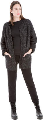 Max Studio textured wool cardigan