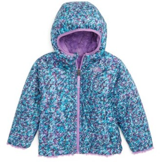 Toddler Girl's The North Face Mossbud Reversible Heatseeker(TM) Wind Resistant Jacket $90 thestylecure.com
