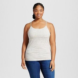 Women's Plus Size Core Cami - Mossimo Supply Co.(Juniors') $9 thestylecure.com
