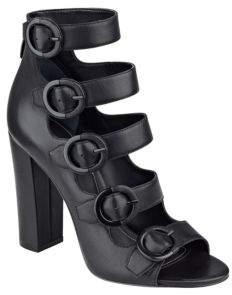KENDALL + KYLIE Evie Suede Multi-Strap Block Heel Sandals