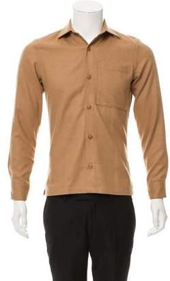 Todd Snyder Point Collar Button-Up Shirt