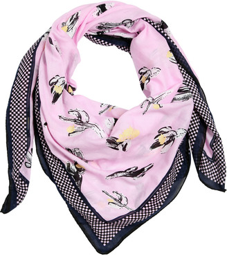 Cactus Printed Cotton Scarf $300 thestylecure.com