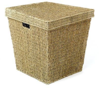 Seagrass Cube With Lid