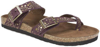 White Mountain Graham Footbed Sandals Women Shoes
