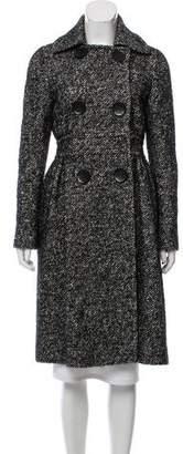 Giambattista Valli Long Wool Coat