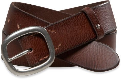AE Square Basic Leather Belt
