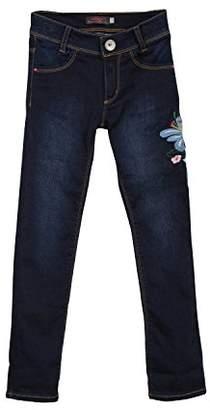 Catimini Girl's Denim Brode Jeans