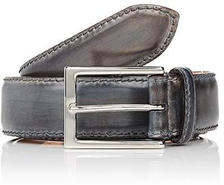 Harris Men's Burnished Smooth Leather Belt