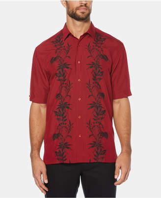 Cubavera Men Pineapple Stripe Short-Sleeve Shirt