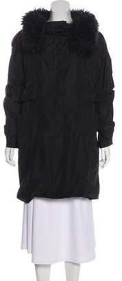 BCBGMAXAZRIA Knee-Length Long-Sleeve Coat