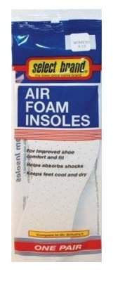 Premier Brands Of Am S/B Air Foam Insole Woms 9-10