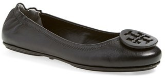 Women's Tory Burch 'Minnie' Travel Ballet Flat $228 thestylecure.com