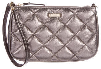 Kate Spade Kate Spade New York Quilted Metallic Wristlet