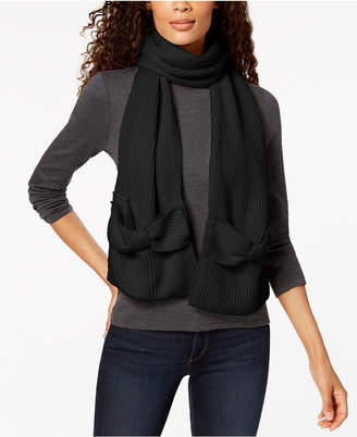 Kate Spade Solid Bow Scarf
