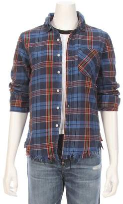 NSF Raw Edge Plaid Shirt