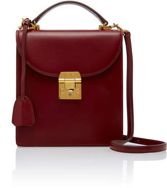 Mark Cross Small Uptown Fold Over Leather Bag