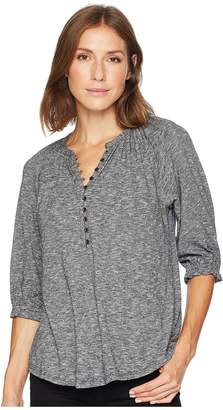 Lucky Brand Henley Top Women's Clothing