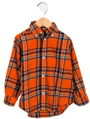 Ralph Lauren Boys' Plaid Flannel Shirt