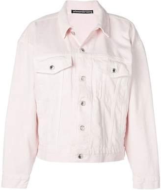 Alexander Wang boxy-fit denim jacket